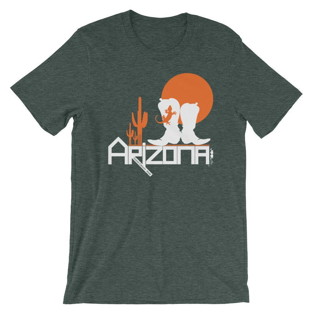 Arizona Desert Booties Short-Sleeve Men's T-Shirt T-Shirts Heather Forest / 2XL designed by JOOLcity