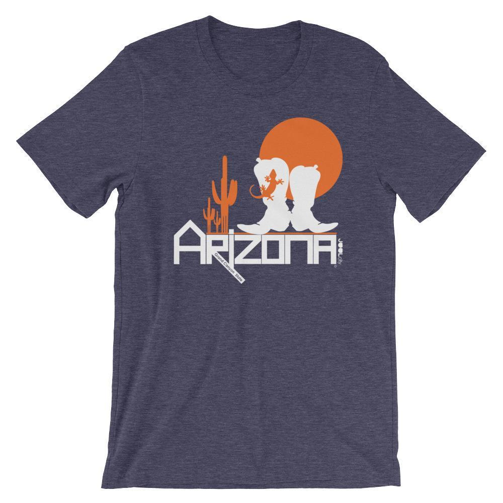 Arizona Desert Booties Short-Sleeve Men's T-Shirt T-Shirts Heather Midnight Navy / 2XL designed by JOOLcity