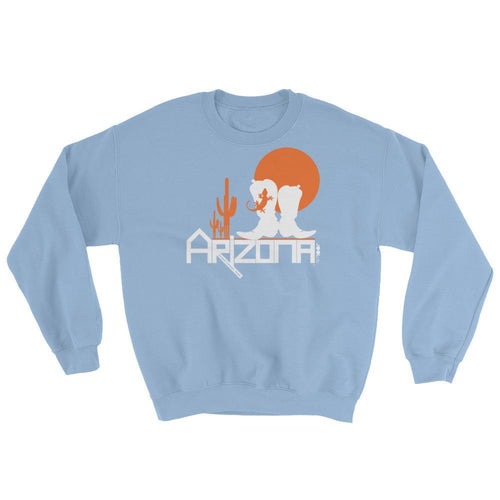 Arizona Desert Booties Sweatshirt Sweatshirts Light Blue / 2XL designed by JOOLcity