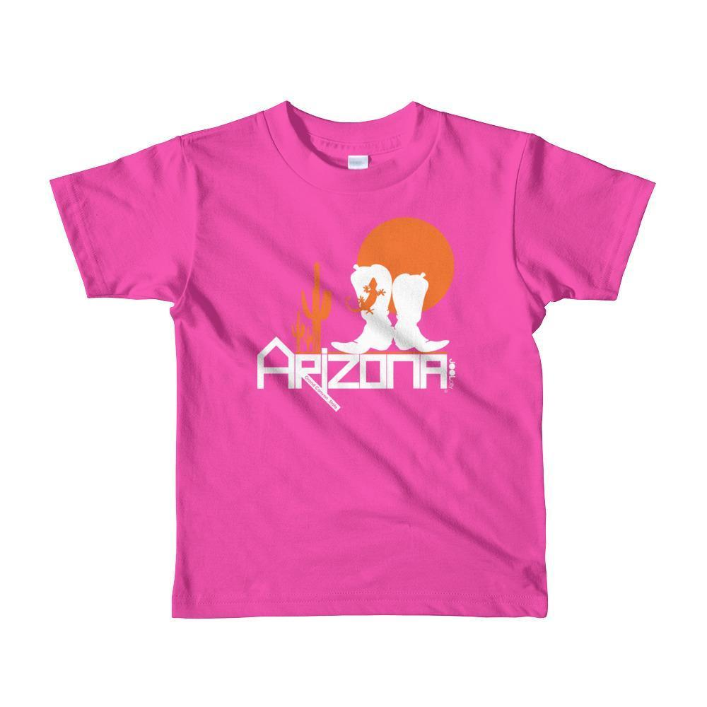 Arizona Desert Booties Toddler Short Sleeve T-shirt T-Shirts Fuchsia / 6yrs designed by JOOLcity