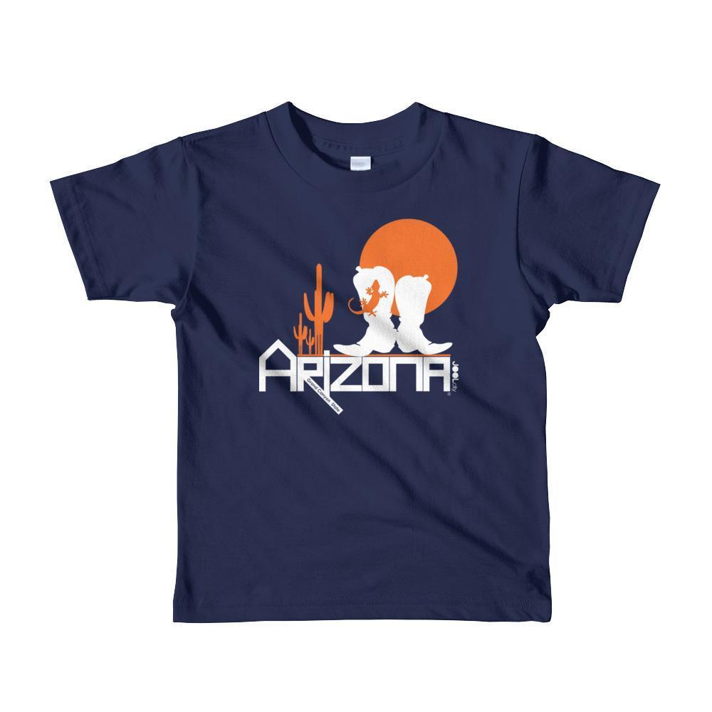 Arizona Desert Booties Toddler Short Sleeve T-shirt T-Shirts Navy / 6yrs designed by JOOLcity