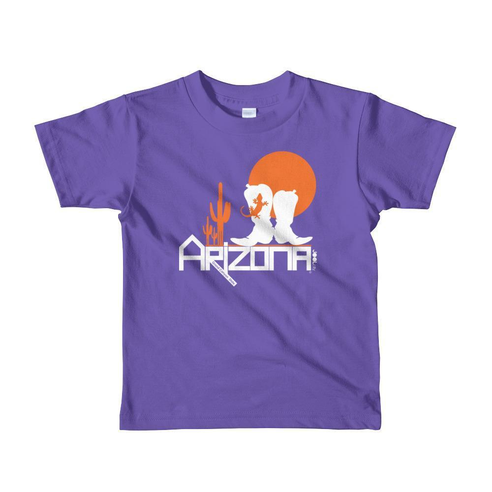 Arizona Desert Booties Toddler Short Sleeve T-shirt T-Shirts Purple / 6yrs designed by JOOLcity