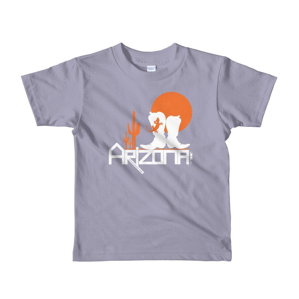 Arizona Desert Booties Toddler Short Sleeve T-shirt T-Shirts Slate / 6yrs designed by JOOLcity