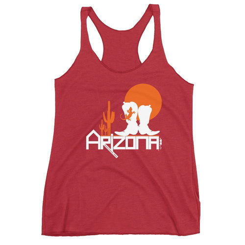 Arizona Desert Booties Women's Tank Top Tank Tops Vintage Red / XL designed by JOOLcity