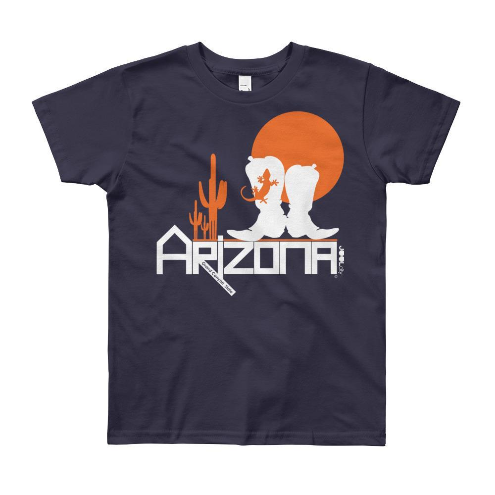 Arizona Desert Booties Youth Short Sleeve T-Shirt T-Shirts Navy / 12yrs designed by JOOLcity