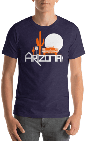 Arizona Desert Ride Short-Sleeve Men's T-Shirt T-Shirt  designed by JOOLcity