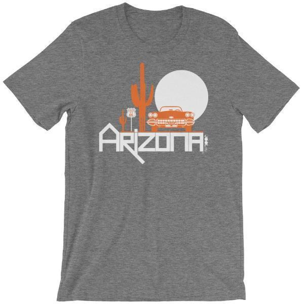 Arizona Desert Ride Short-Sleeve Men's T-Shirt T-Shirt Deep Heather / 2XL designed by JOOLcity