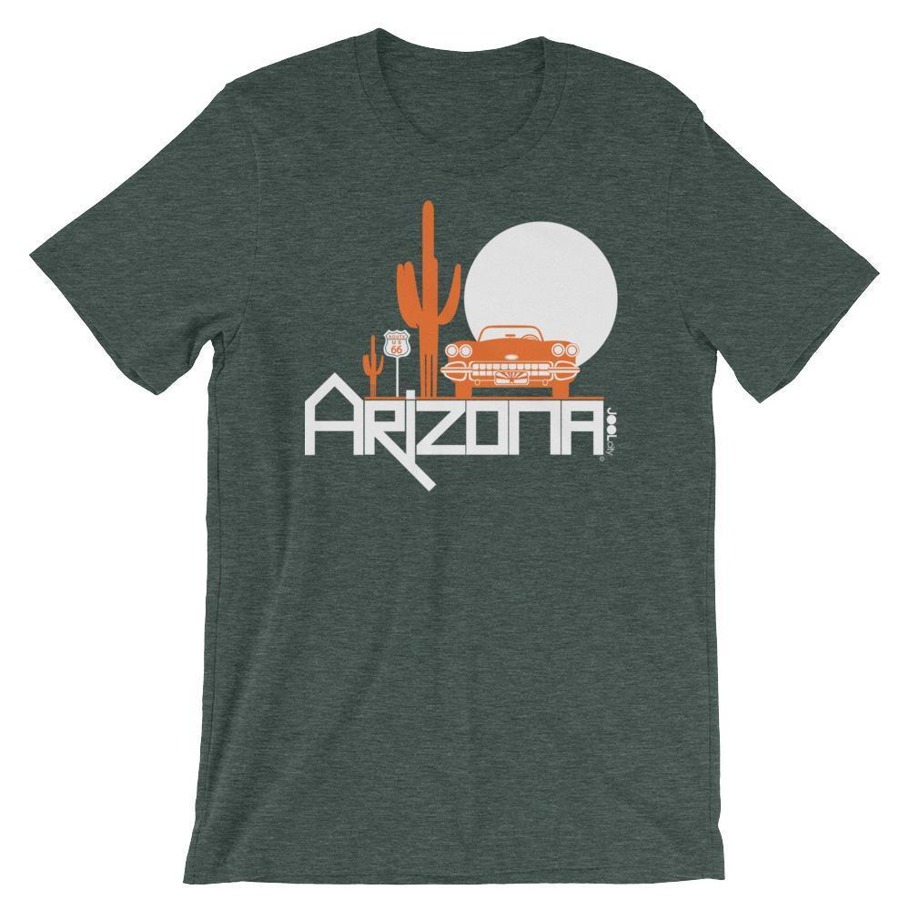 Arizona Desert Ride Short-Sleeve Men's T-Shirt T-Shirt Heather Forest / 2XL designed by JOOLcity