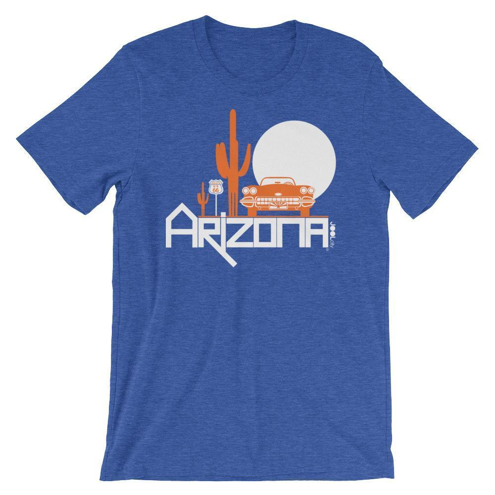 Arizona Desert Ride Short-Sleeve Men's T-Shirt T-Shirt Heather True Royal / 2XL designed by JOOLcity