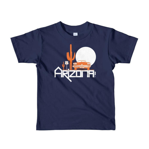 Arizona Desert Ride Short Sleeve Toddler T-shirt T-Shirt Navy / 6yrs designed by JOOLcity