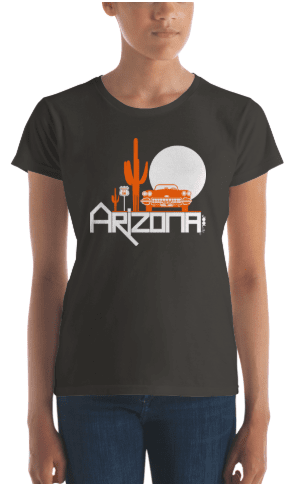 Arizona Desert Ride Women's Short Sleeve T-shirt T-Shirt  designed by JOOLcity