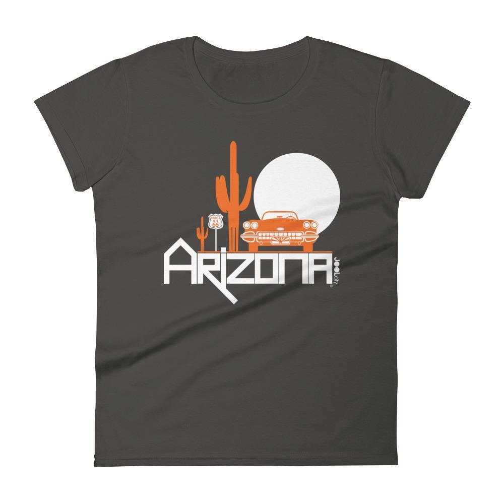 Arizona Desert Ride Women's Short Sleeve T-shirt T-Shirt Smoke / 2XL designed by JOOLcity