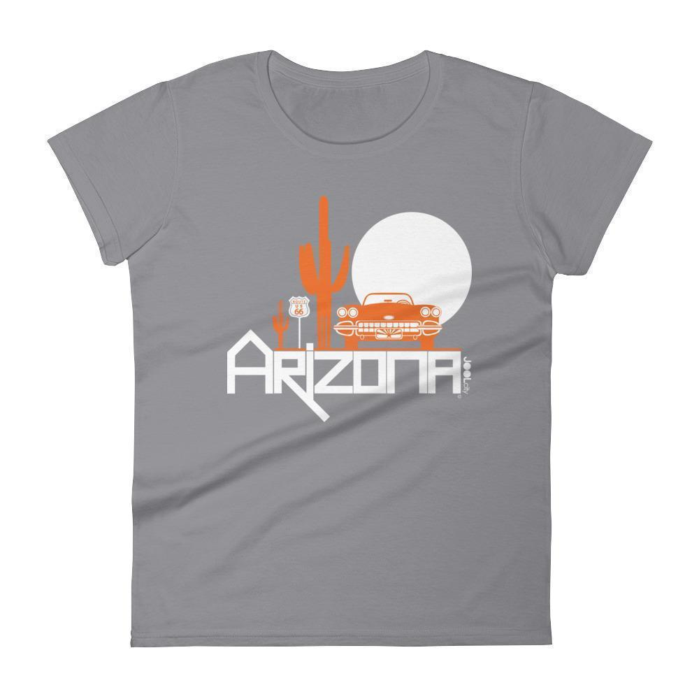 Arizona Desert Ride Women's Short Sleeve T-shirt T-Shirt Storm Grey / 2XL designed by JOOLcity