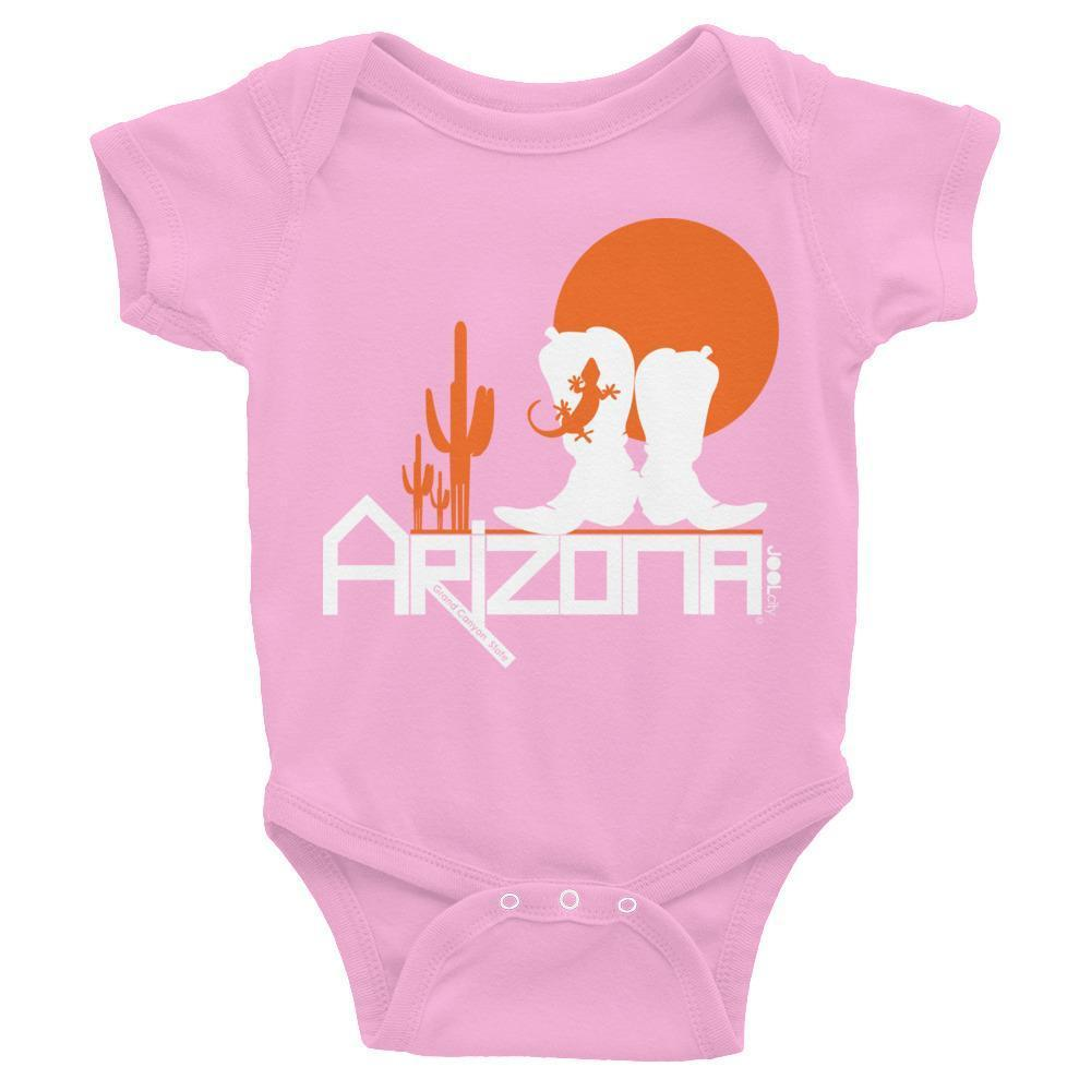 Arizona Lizard Booties Baby Onesie