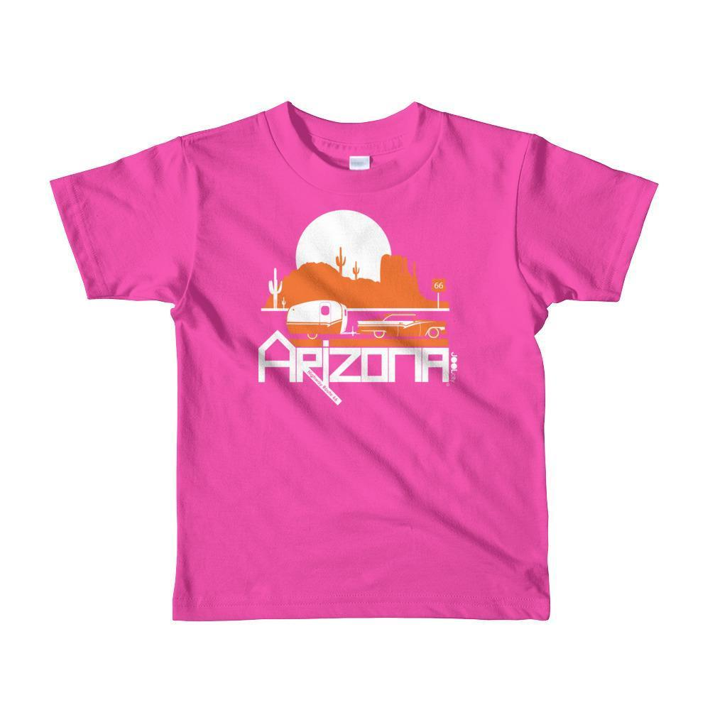 Arizona Retro Route Short Sleeve Toddler T-shirt T-Shirt Fuchsia / 6yrs designed by JOOLcity
