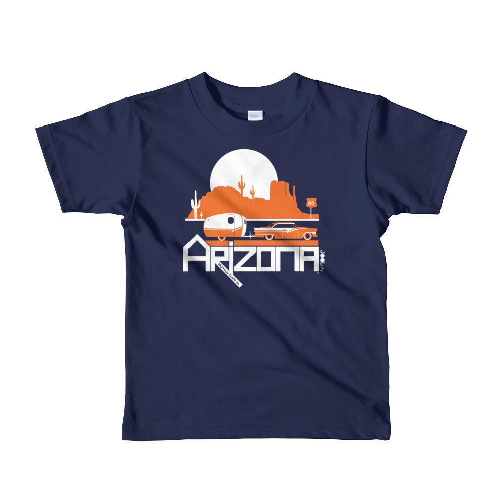 Arizona Retro Route Short Sleeve Toddler T-shirt T-Shirt Navy / 6yrs designed by JOOLcity