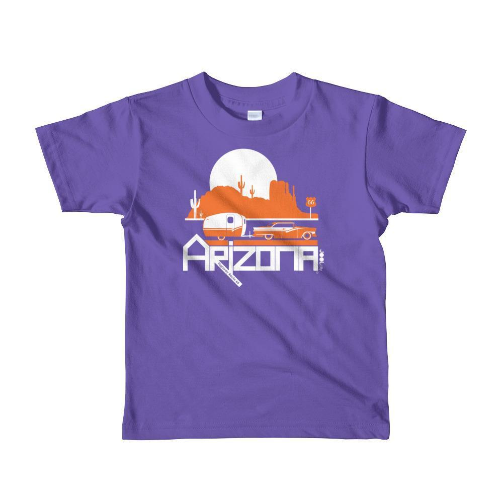 Arizona Retro Route Short Sleeve Toddler T-shirt T-Shirt Purple / 6yrs designed by JOOLcity