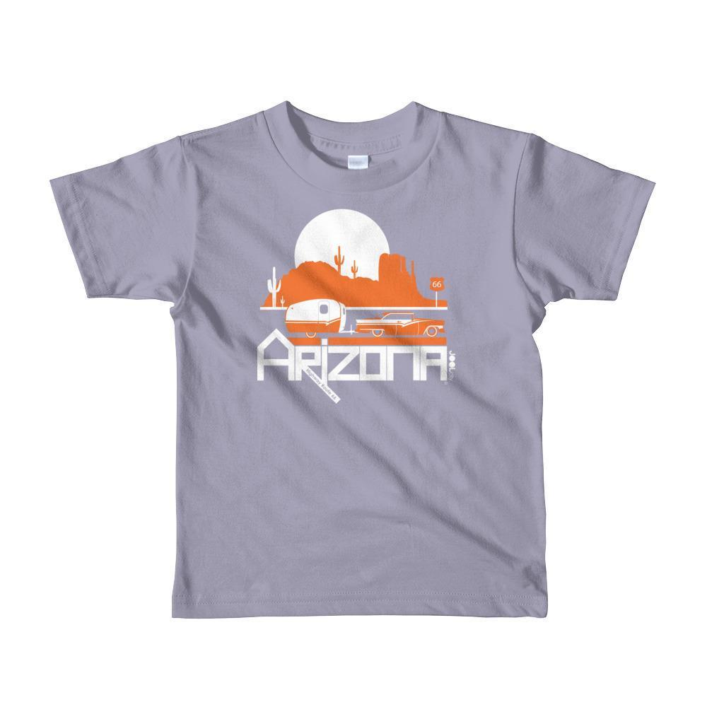 Arizona Retro Route Short Sleeve Toddler T-shirt T-Shirt Slate / 6yrs designed by JOOLcity