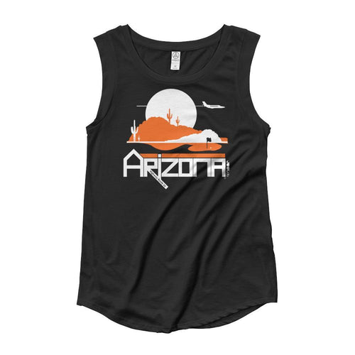 Arizona Tee High Ladies' Cap Sleeve Tank-Top