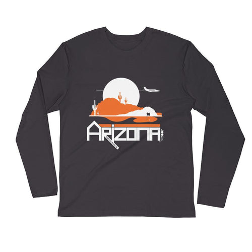 Arizona Tee High Long Sleeve Men's T-Shirt T-Shirt 2XL designed by JOOLcity