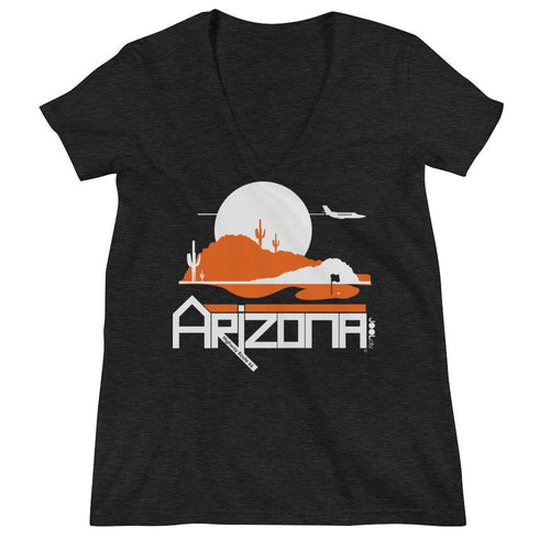 Arizona Tee High Women's Fashion Deep V-neck Tee