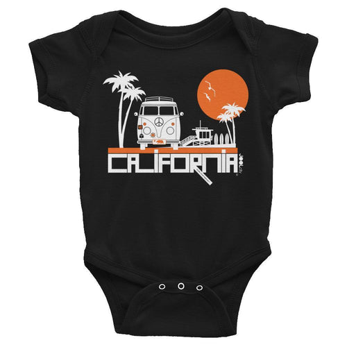 California  Beach Peace  Baby Onesie