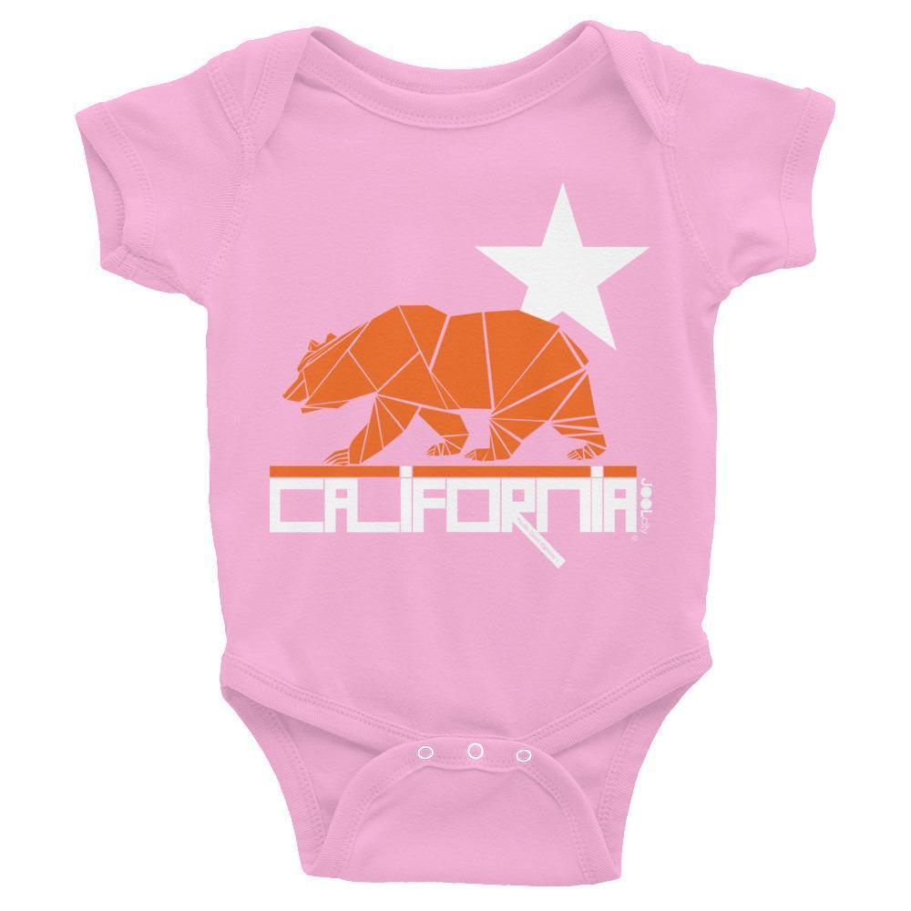 California  Geo Bear Baby Onesie