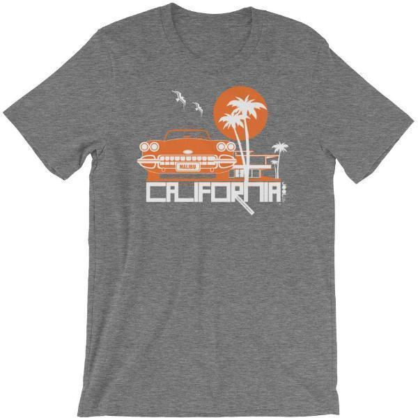 California Mid-Century Ride Short-Sleeve Men's T-Shirt T-Shirt Deep Heather / 4XL designed by JOOLcity