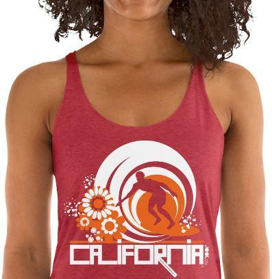 California Ripcurl Flower Power Women's Tank Top