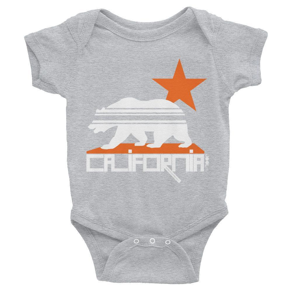 California  Stars & Stripes  Baby Onesie