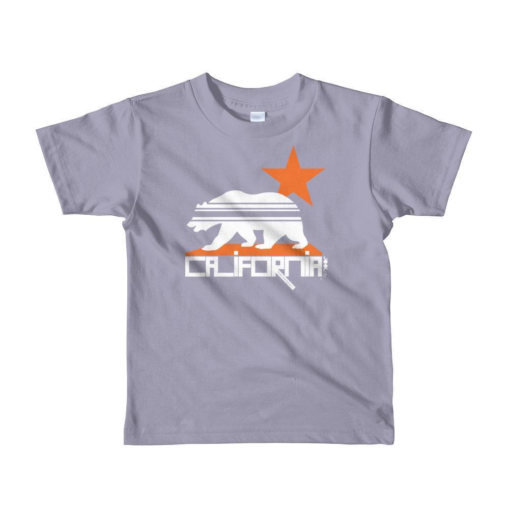 California Stars & Stripes Toddler Short Sleeve T-shirt T-Shirt Slate / 6yrs designed by JOOLcity