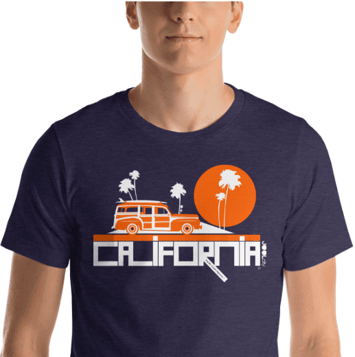 California Woody Wagon Short-Sleeve Men's T-Shirt T-Shirt  designed by JOOLcity
