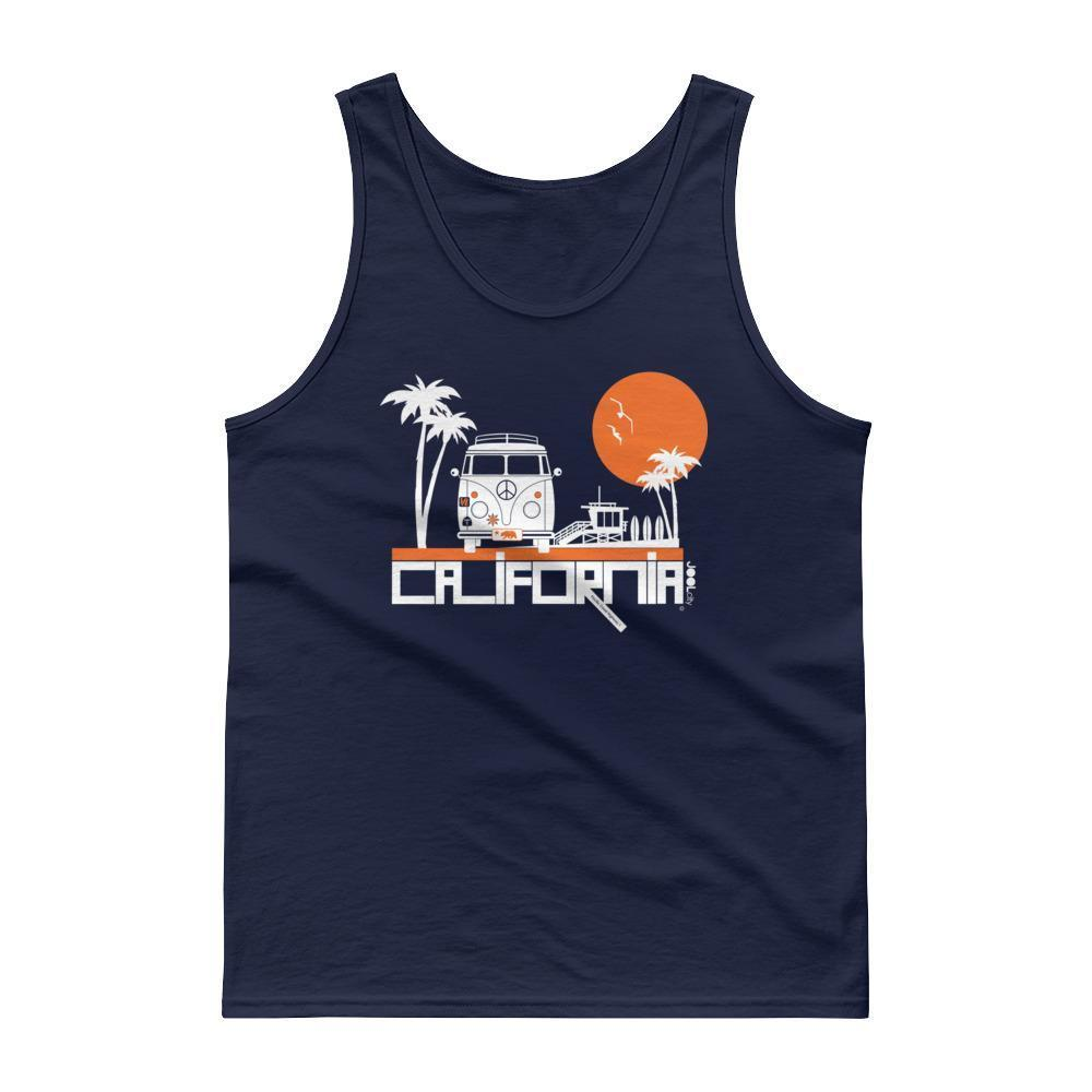 California Beach Peace Men's Tank Top