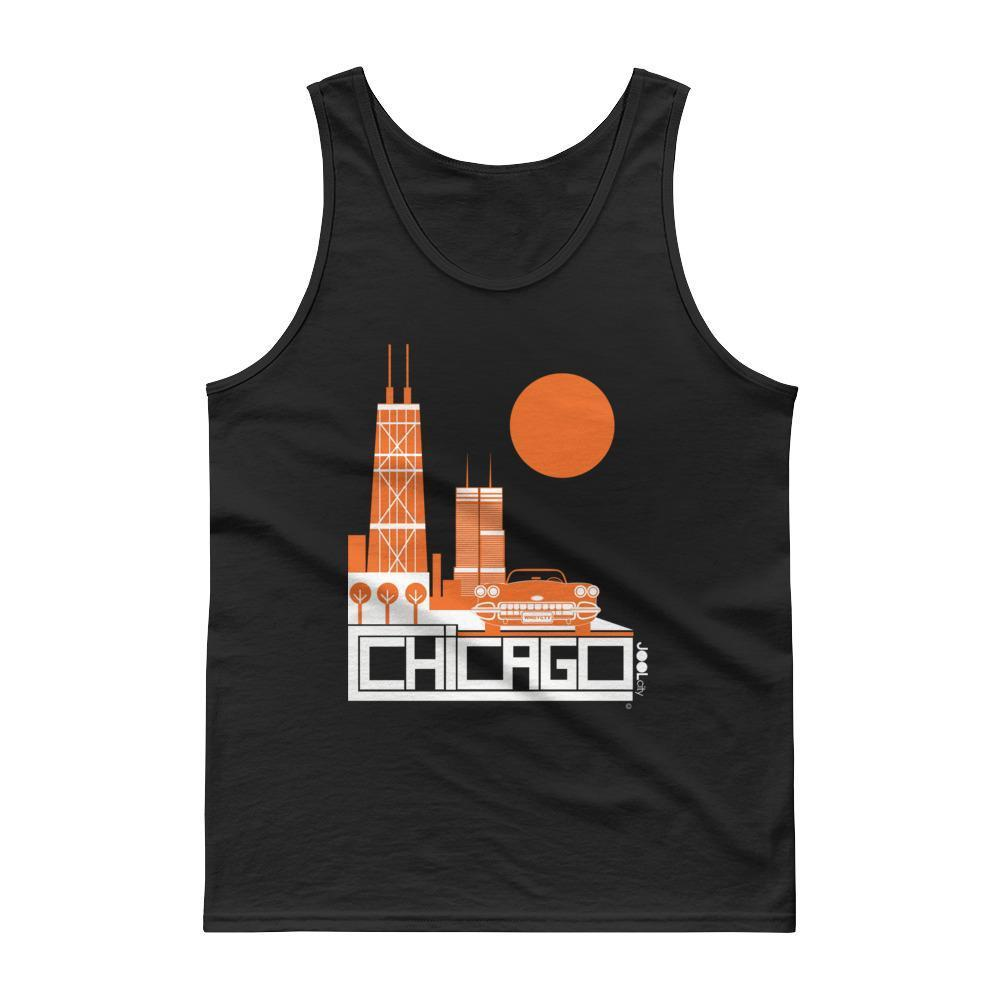 Chicago Downtown Ride Men's Tank top