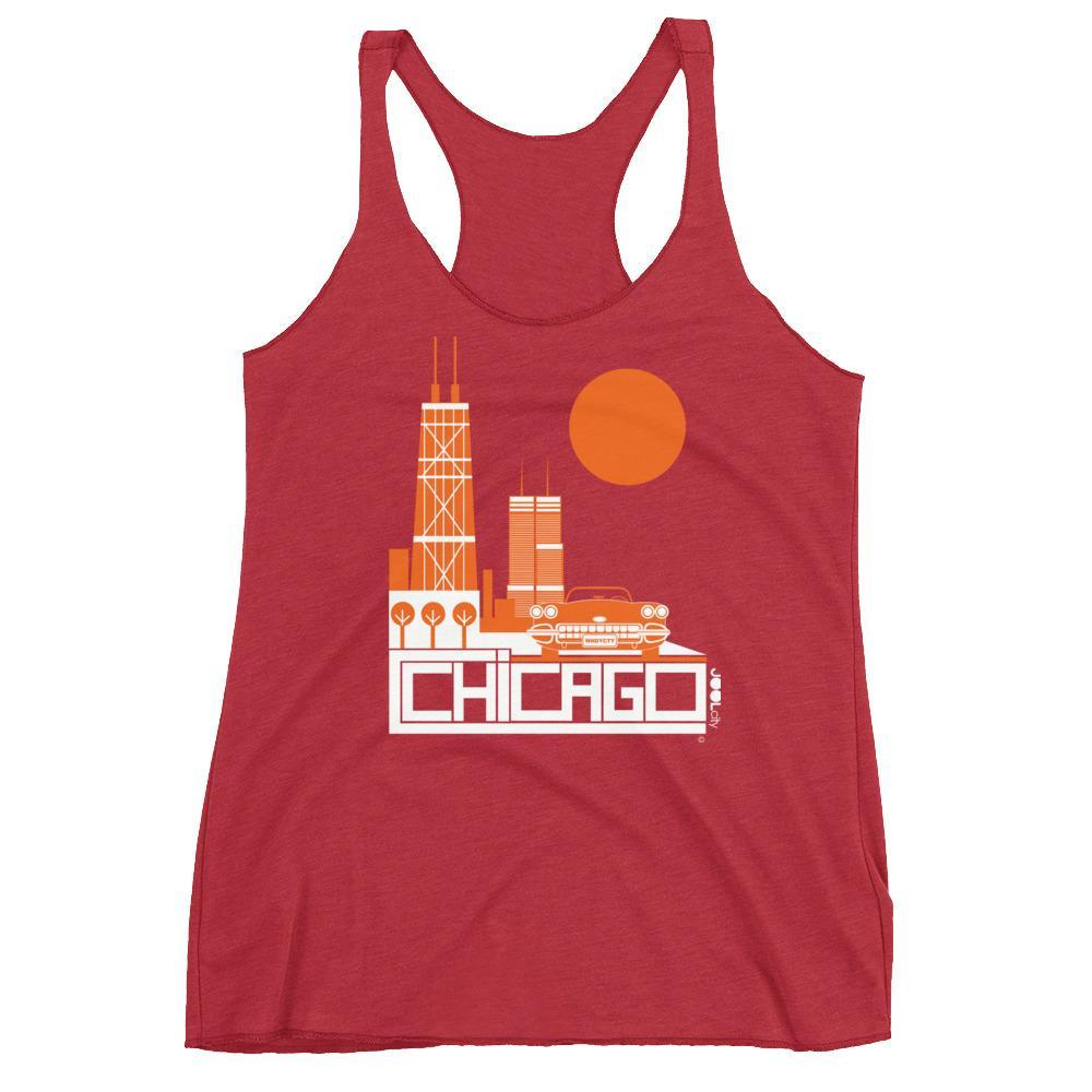 Chicago Downtown Ride Women's Tank Top