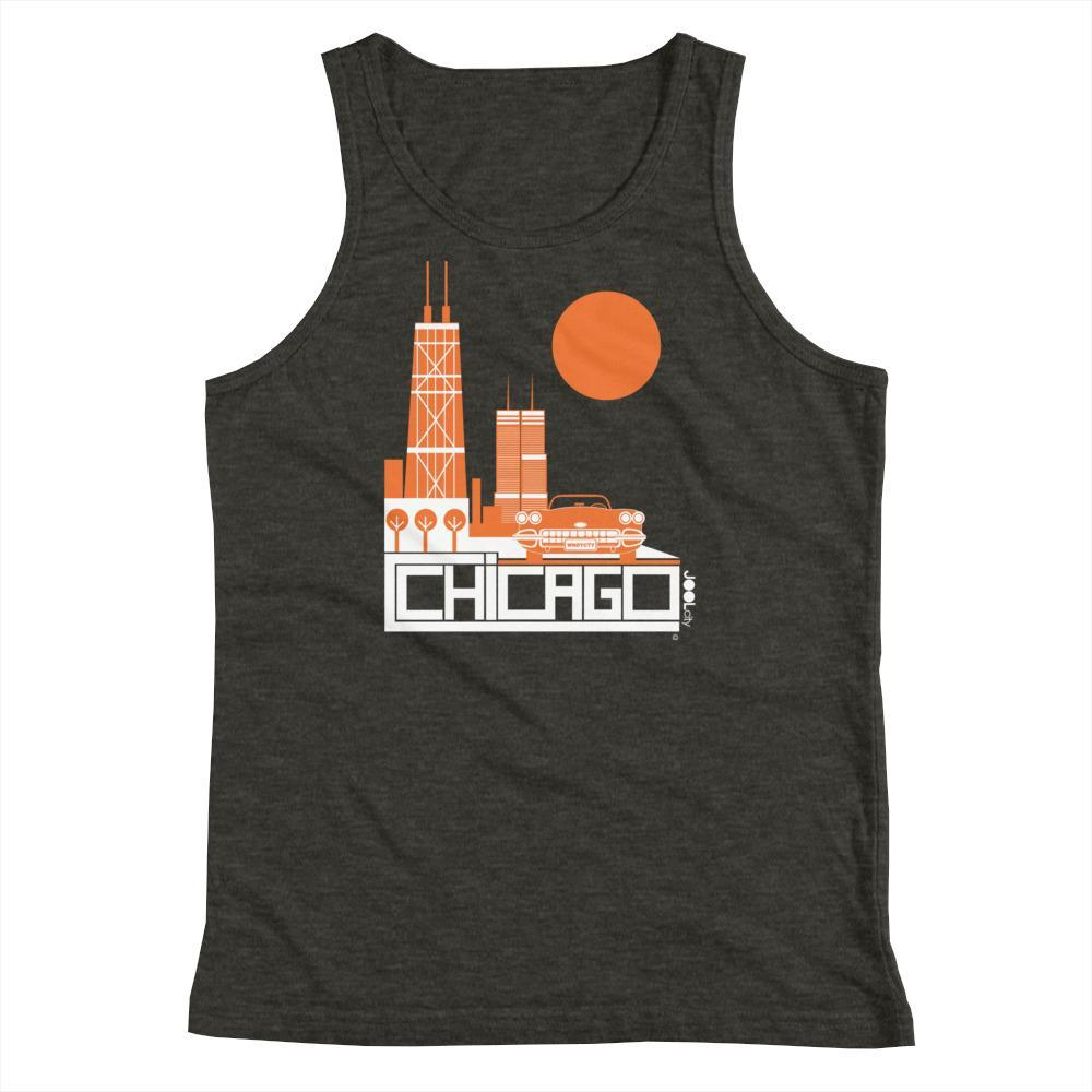 Chicago Downtown Ride Youth Tank Top