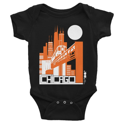 Chicago El Train Baby Onesie