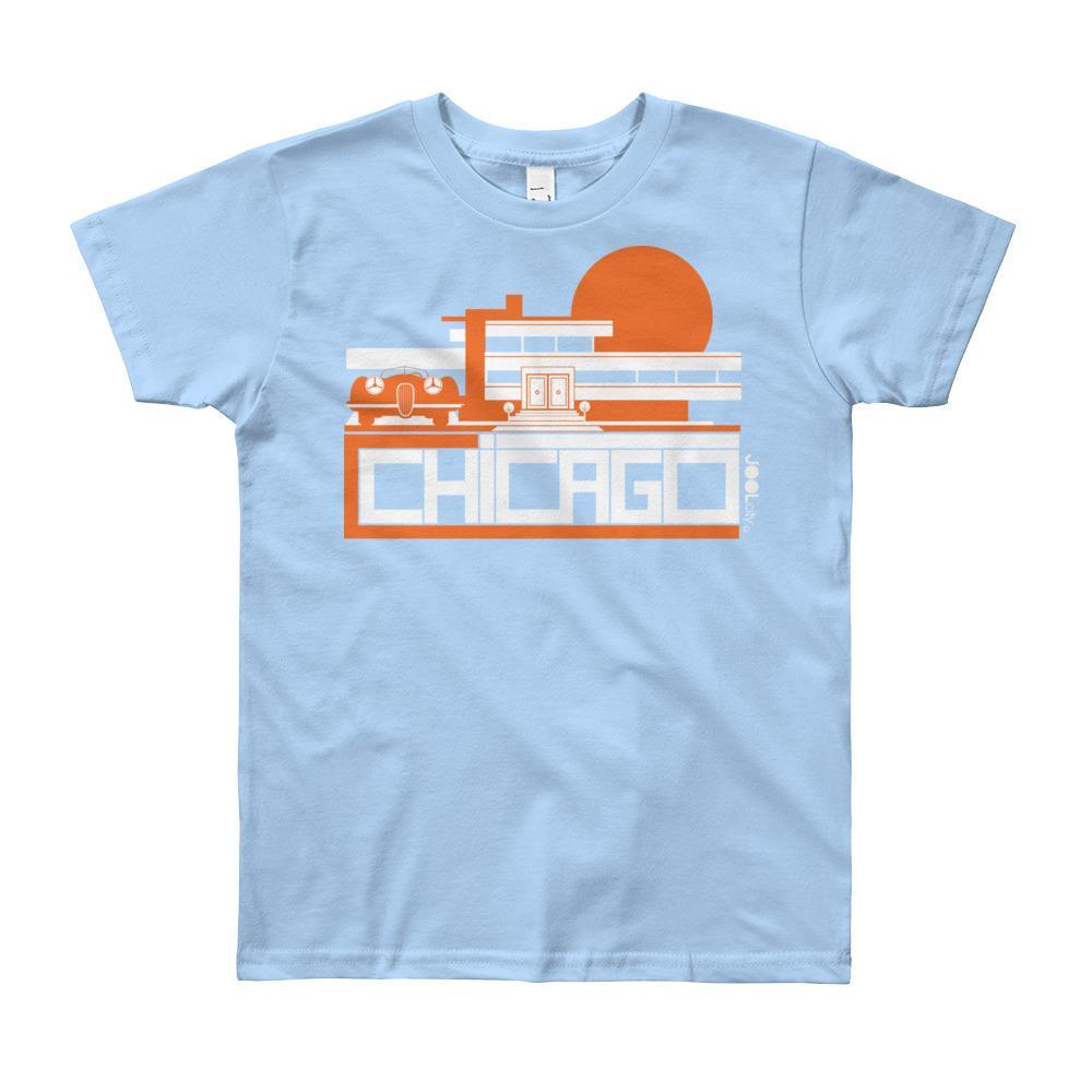 Chicago Mod Prairie Short Sleeve Youth T-shirt T-Shirt  designed by JOOLcity