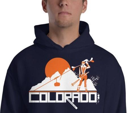 Colorado Apres Ski Hooded Sweatshirt