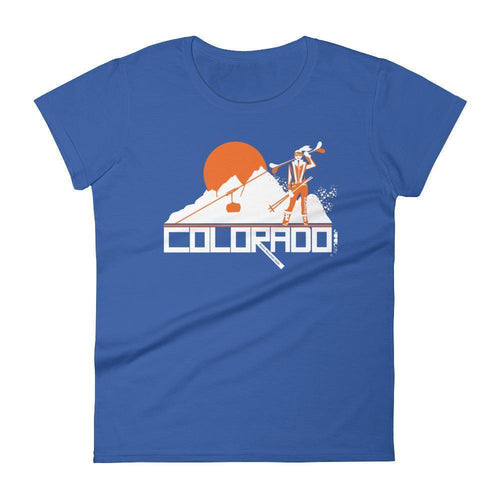 Colorado Apres-Ski Women's Short Sleeve T-Shirt T-Shirt Royal Blue / 2XL designed by JOOLcity