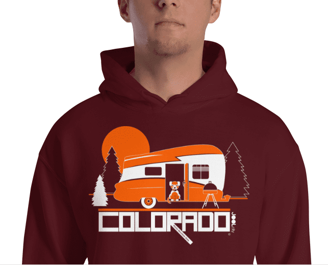 Colorado Camping Pupster Hooded Sweatshirt