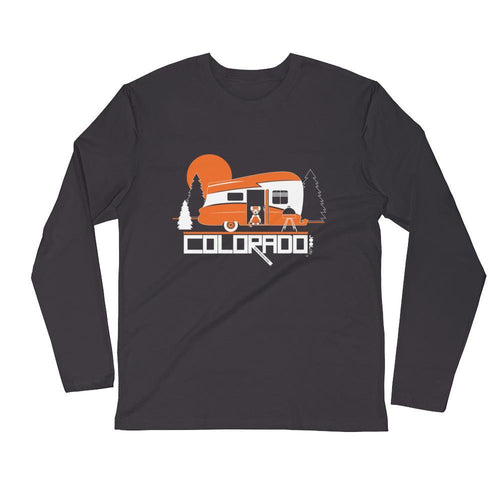 Colorado Camping Pupster Long Sleeve Men's T-Shirt T-Shirt 2XL designed by JOOLcity