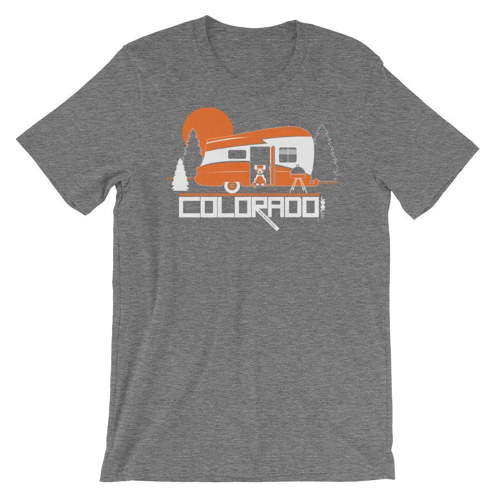 Colorado Camping Pupster Short-Sleeve Men's T-Shirt T-Shirt Deep Heather / 2XL designed by JOOLcity
