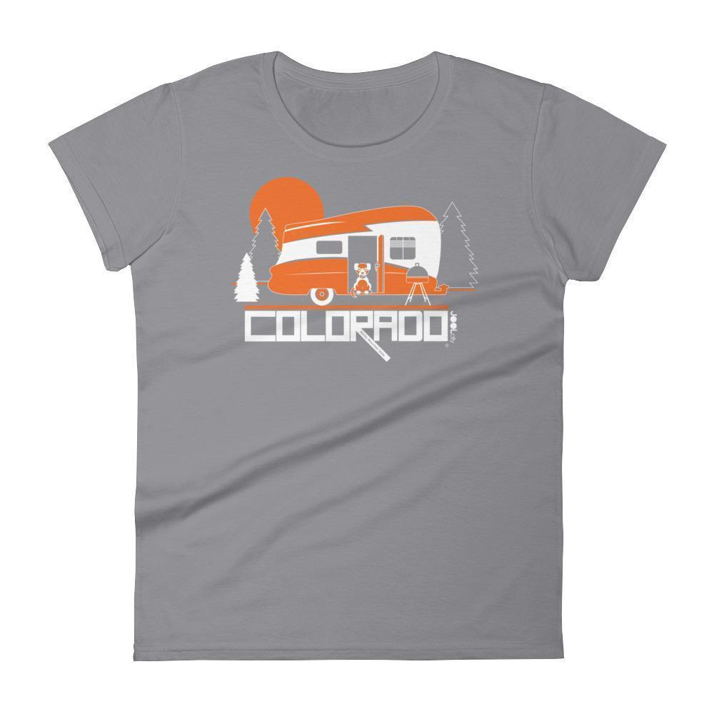 Colorado Camping Pupster Women's Short Sleeve T-Shirt T-Shirt Storm Grey / 2XL designed by JOOLcity