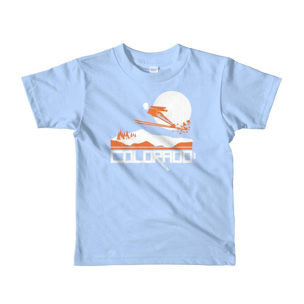 Colorado Flying High Short Sleeve Toddler T-shirt T-Shirt Baby Blue / 6yrs designed by JOOLcity