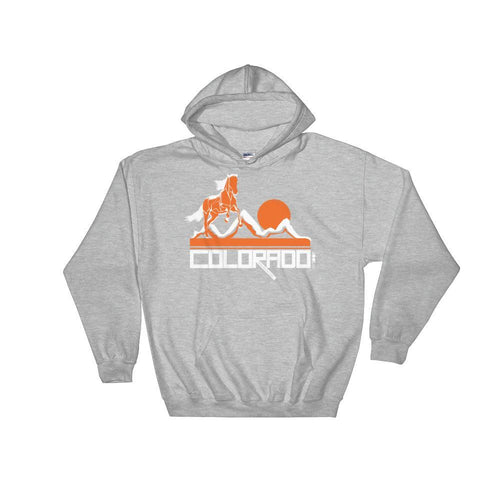 Colorado Hill Horse Hooded Sweatshirt