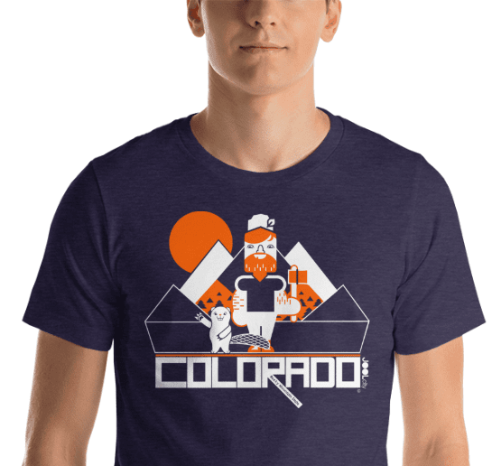 Colorado Lumber Jack Short-Sleeve Men's T-Shirt T-Shirt  designed by JOOLcity
