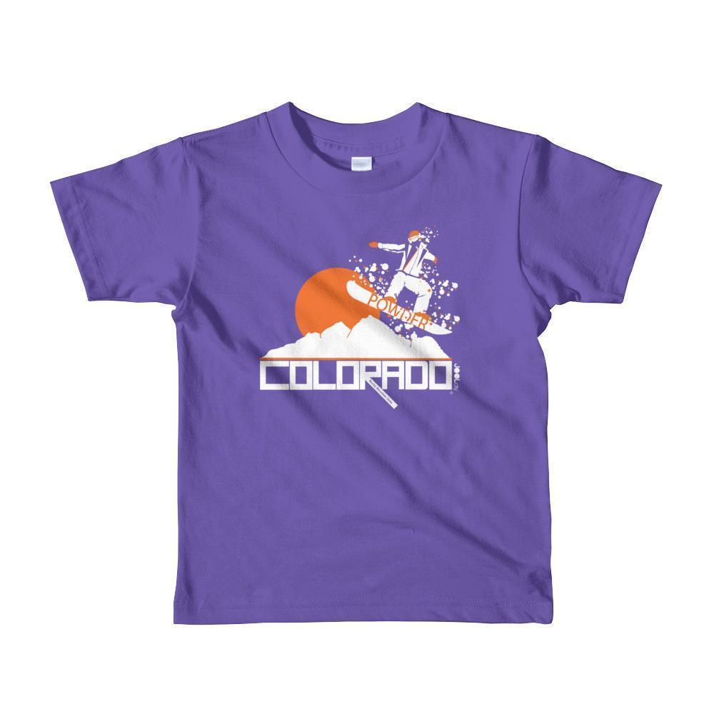 Colorado Shredding Toddler Short-Sleeve T-shirt T-Shirt Purple / 6yrs designed by JOOLcity