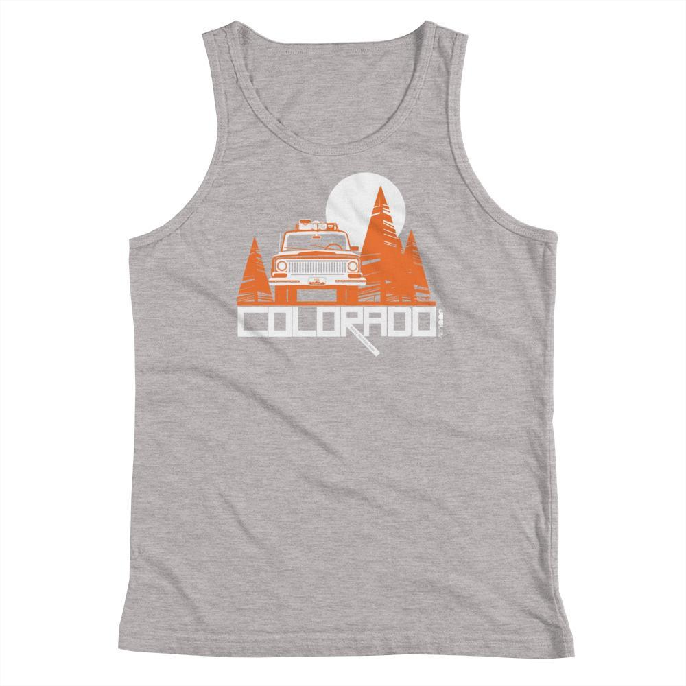 Colorado Wagon Wheel Youth Tank Top