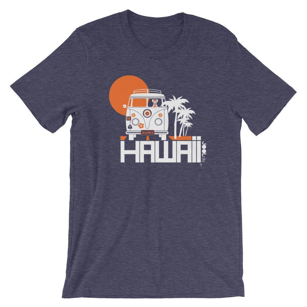 Hawaii  Aloha Cruise  Short-Sleeve Men's T-Shirt T-Shirt Heather Midnight Navy / 2XL designed by JOOLcity